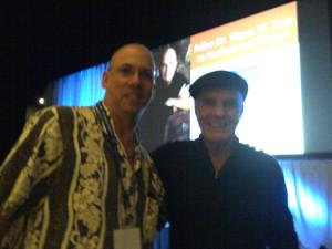 Steve Repergel meets Dr. Wayne Dyer